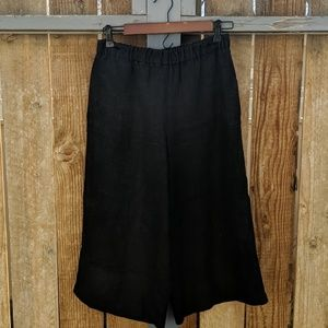 Fog Linen Works Linen Wide Leg Pants